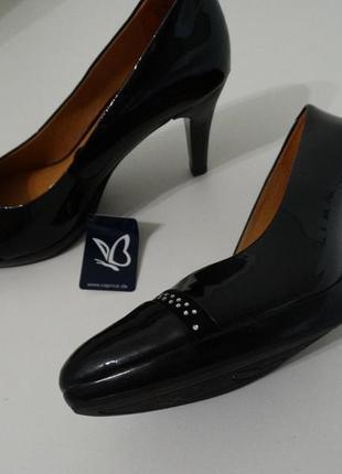 Туфли лодочки натуральная кожа caprice