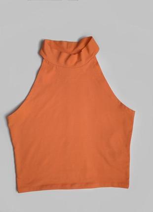 Ярко-оранжевый топ