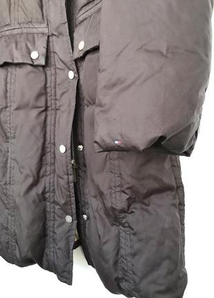 Пальто пуховик tommy hilfiger куртка