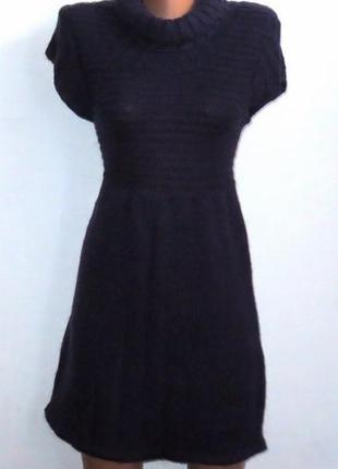 Полушерстяное платье от george размер: 42-s