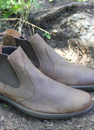 Демисезон. ботинки imac italy кожа. оригинал 46р