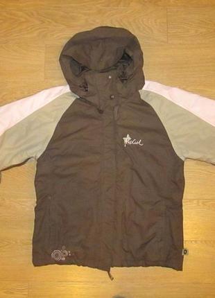 Утепленная куртка rip curl, p.xs, 36, мембрана 3000.