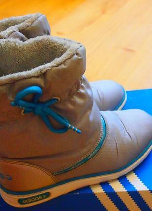 Сноубутсы, дутики adidas neo р.36-37