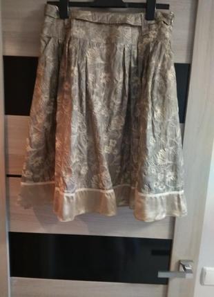 Нежная шелковая юбка rene lezard