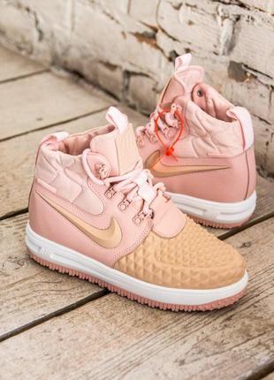 Женские кроссовки nike duckboot pink | размеры: 36-40.