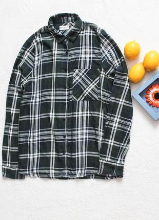 Рубашка в клеточку от pull&bear, размер s