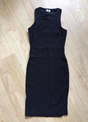Бандажное облегающее платье h&m