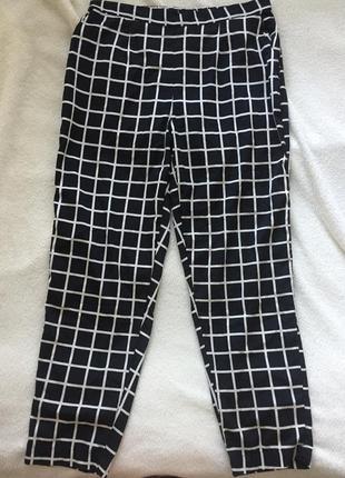 Крутые лёгкие на резинке брюки