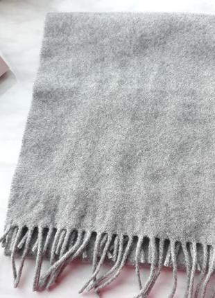 Стильный шарф 100% шерсть италия
