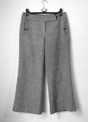 Стильные брюки кюлоты на осень
