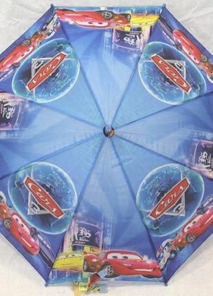 Зонт детский полуавтомат трость