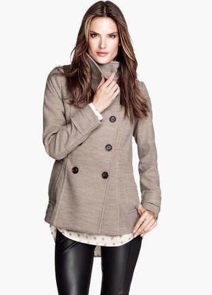 Укороченное пальто h&m
