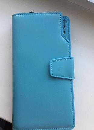 Женское портмоне baellerry business woman голубой