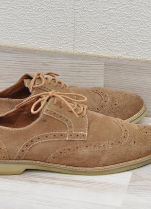 Туфли замша 45р., демисезонные.