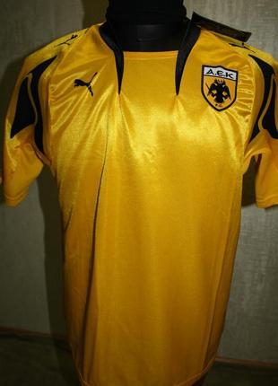 Футбольная джерси футболка подростковая puma