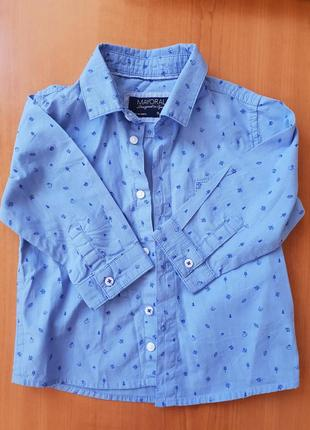Фирменная рубашка майорал
