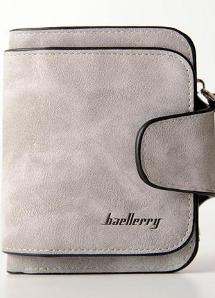 Женский кошелек baellerry forever mini светло серый
