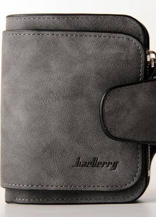 Женский кошелек baellerry forever mini темно -серый