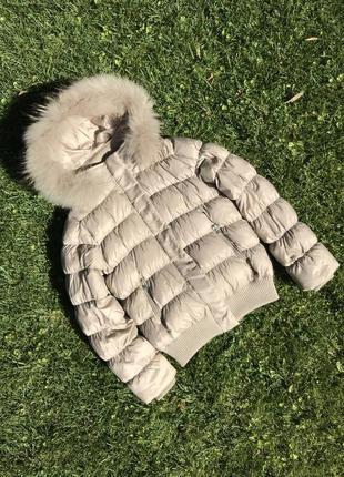 Пуховик курточка deha
