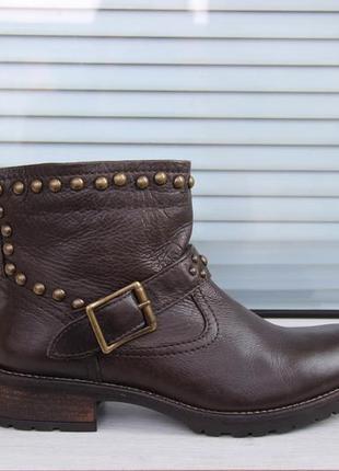 Кожаные ботинки roberto santi