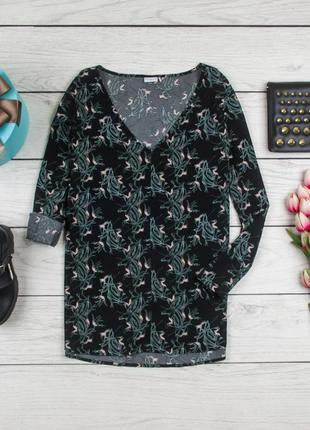 Блуза шелковая от jacqueline de yong рр 40 eur  наш 46