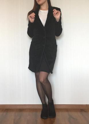Велюровое пальто free paris