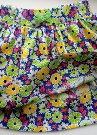 Детская юбка для девочек 2-5 лет мега цена