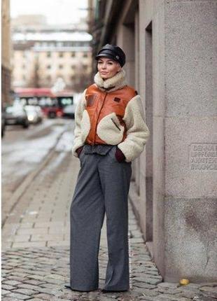 Стильные  брюки свободного кроя promod
