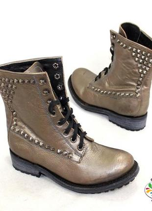 Ботинки 36 р ash кожа оригинал демисезон