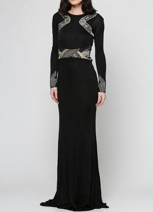 Шикарное платье sassofono с камнями swarovski