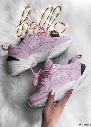 Крутые кроссовки в розовом цвете и удобной эргономикой (кожа, 36-40)