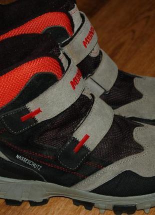Зимние кожаные термо ботинки 39 р meindl nasseschutz германия