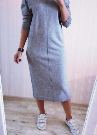 Шикарное платье с/м  л/хл