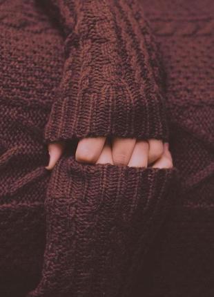 Вязаный свитер, вязаная кофта
