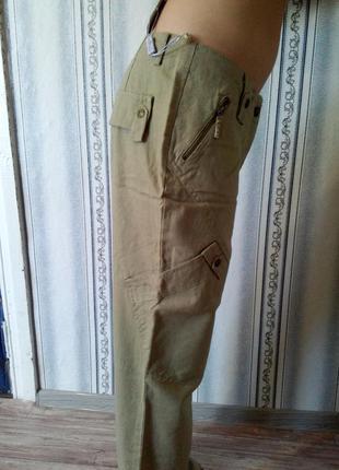 Лёгкие льняные брюки на каждый день2 фото