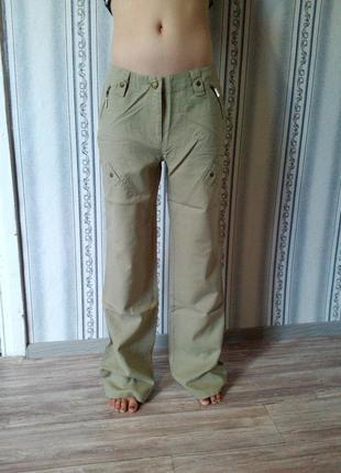 Лёгкие льняные брюки на каждый день1 фото