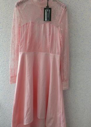 Новое нежное платье с кружевом y.a.s.!