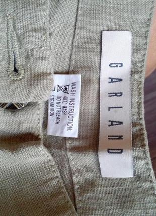 Лёгкие льняные брюки на каждый день5 фото