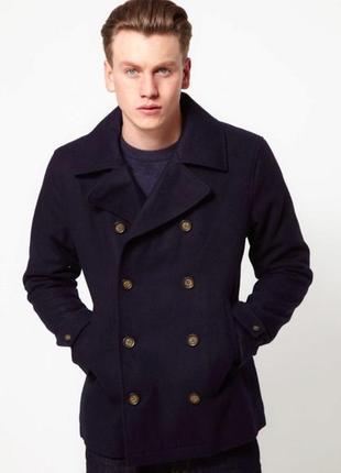 Мужское полу пальто утепленное зимнее gap