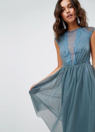 Шикарное кружевное платье от asos