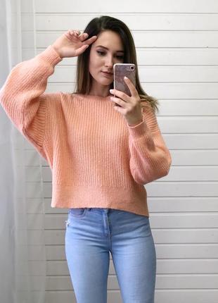 Объемный свитер h&m