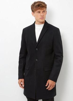 Мужское классическое пальто next