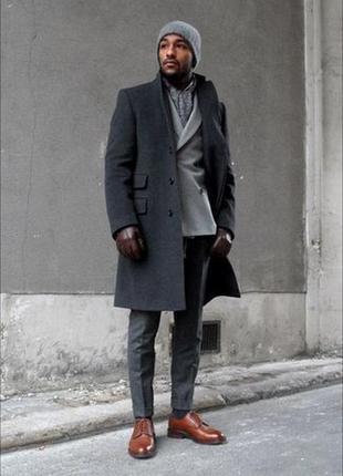 Мужское классическое пальто jack reid