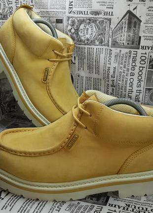 27 см! оригинальные ботинки lugz (натуральный нубук)