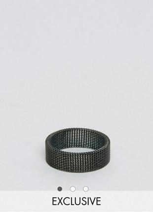 Эксклюзивное кольцо кольчуга asos
