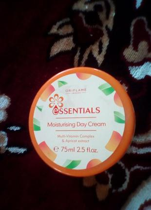 Дневной увлажняющий крем для лица абрикос