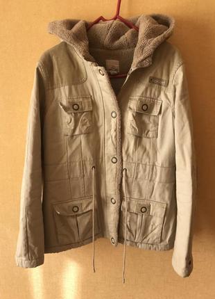 Очень классная и тёплая курточка rip curl