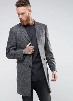 Мужское классическое пальто f&f