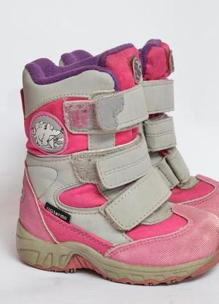 Термосапожки сапоги зимние термоса непромокаемые чоботи