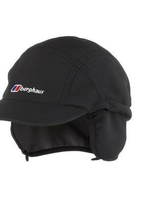 Berghaus softshell кепка трекинговая туристическая|winstopper|утепленная